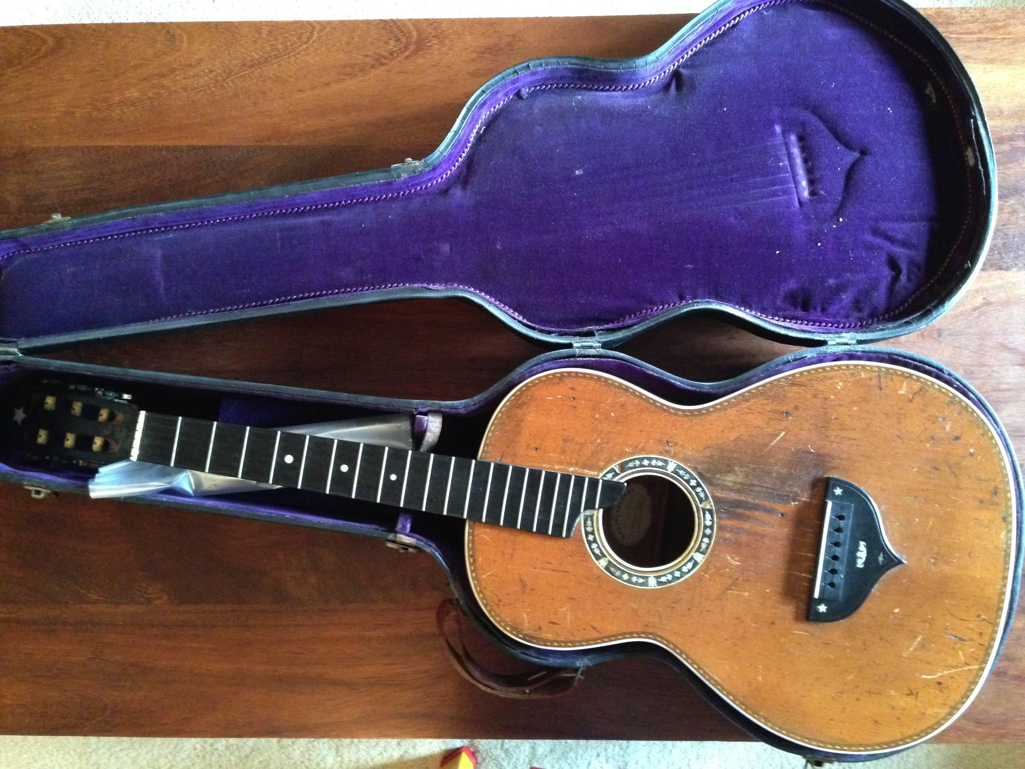 1932 Martin Colletti Parlor Guitar | www bartonguitars co uk